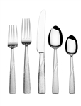 International Silver Loring 51-Piece Stainless Steel Flatware Set, Service for 8, silverware. stainless steel cutlery