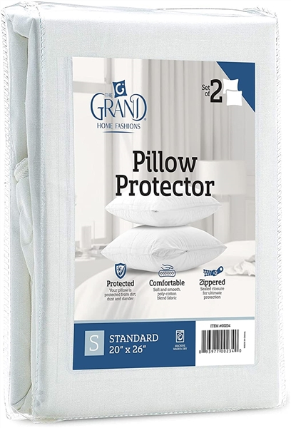 Pillow Protector Twin Pack