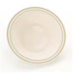 14oz Ivory and Gold China Like Plastic Bowls 120 Count