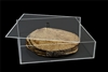 Lucite simple design matzah box