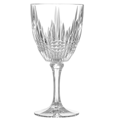 Regency Crystal Goblets- Set of 4, wine goblets, glass goblets, crystal goblets, glass chalices