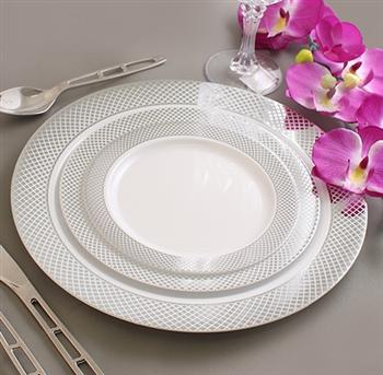 elegant disposable plates u0026 bowls wedding u0026 event dinnerware