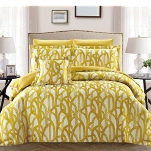 Aspen Savannah Green Luxury 8 piece Twin Bedding Set