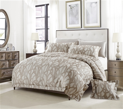 Aspen Luxury 8pc Twin Bedding Set - Discount Bed Linens
