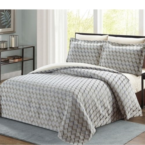 Pasadena Tortora Luxury 8pc Twin Bedding Set - Discount Bed Linens