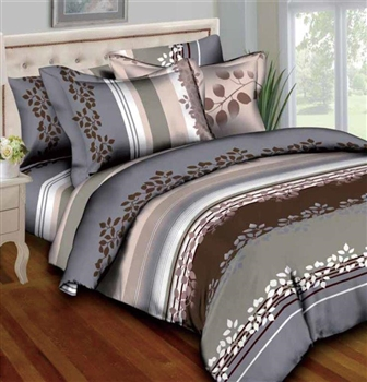 Placid Petals 8PC Bedding Set
