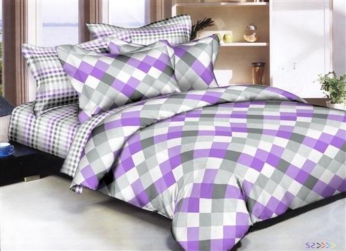 Diamonds Mix Amp Match Lavender 8pc Twin Bedding Set