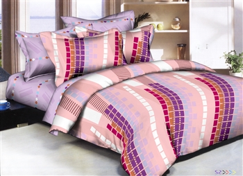 Tower Blocks 8 piece Twin Bedding Set