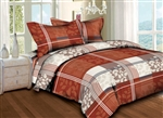 Autumn Plaid 6 piece Twin Bedding Set
