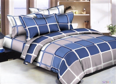 Boys Squircles 6 piece Twin Bedding Set
