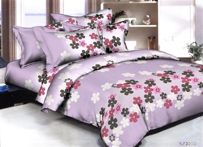 Flower Flakes 6 piece Twin Bedding Set