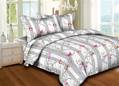 Superior Linen: Welcoming Birds 6PC Bedding Set