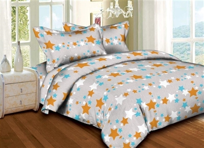 Twinkling Stars 6PC Twin Bedding Set