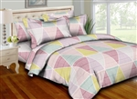 Trendy Triangles 8PC Bedding Set