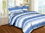 Brush Strokes Blue 6PC Twin Bedding Set