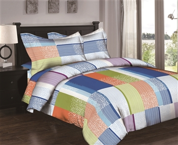 Color Bars 6PC Twin Bedding Set