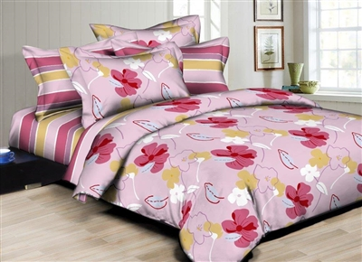 Floral Mix & Match 6PC Twin Bedding Set