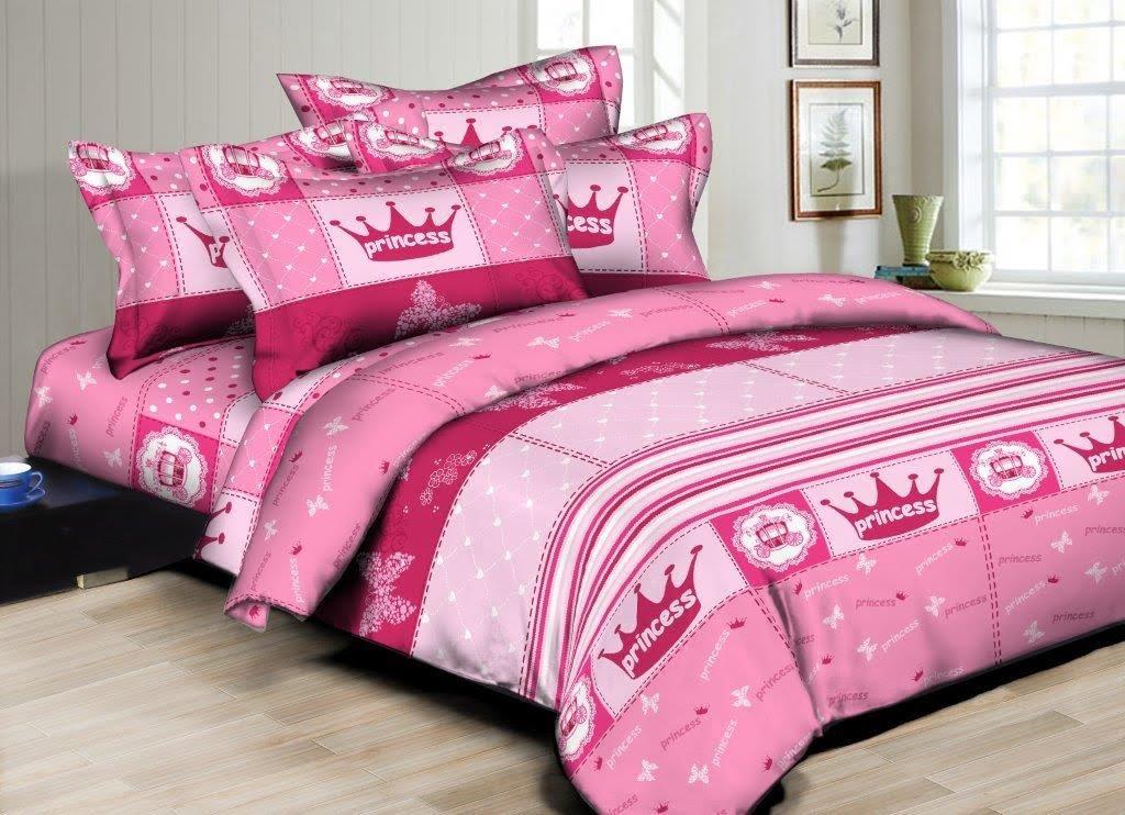 Superior Linen Princess Sweetheart 6pc Twin Bedding Set