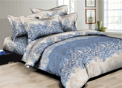 Superior Linen: Branches and Leaves 6PC Bedding Set