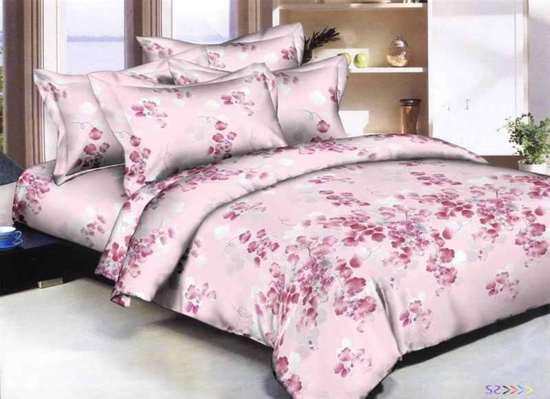Better Bed Collection: Leafy Vines 8PC Twin Bedding Set