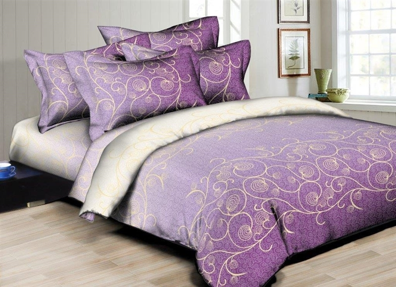 Better Bed Collection: Dainty Swirls 8PC Bedding Set