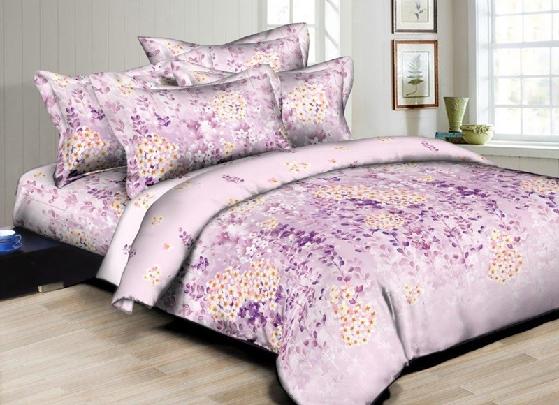 Better Bed Collection: Sunshine Bloom 8PC Twin Bedding Set