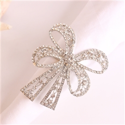 Diamond Bowtie Napkin Ring, Decorative Table Accessories