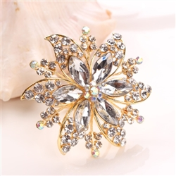 Crystal Daisy Napkin Ring, Decorative Table Accessories