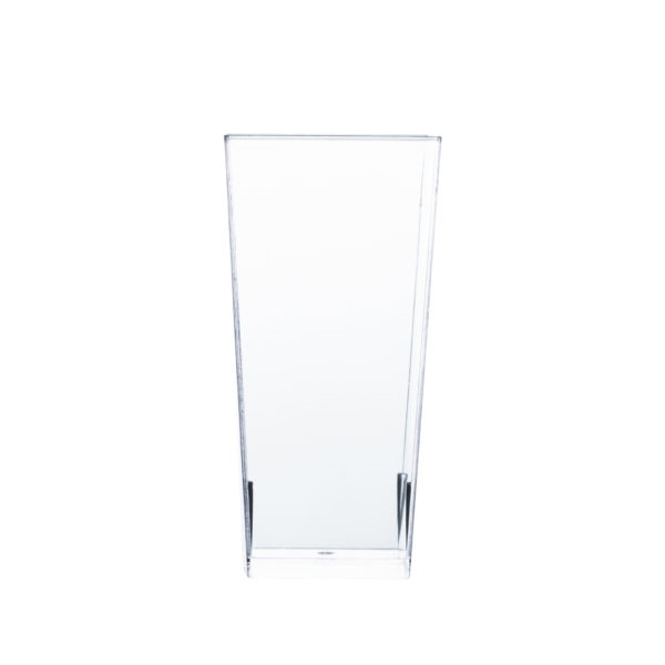 Clear Square Ultra-Tall Shot Cups 8 ct