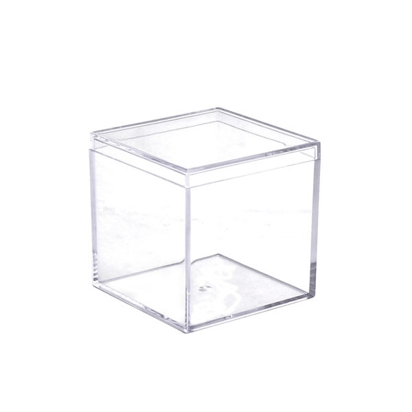 Clear Square Boxes with Lids