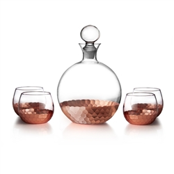 Daphne Fitz and Floyd Decanter and Glass, Decorative Table Accessories