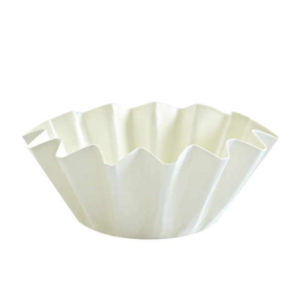Floret Baking Cups in White 20 ct