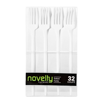 Novelty Flatware Salad Forks 32 ct