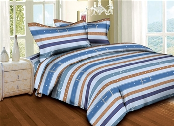 Superior Linen: Belts & Buckles 6PC Bedding Set