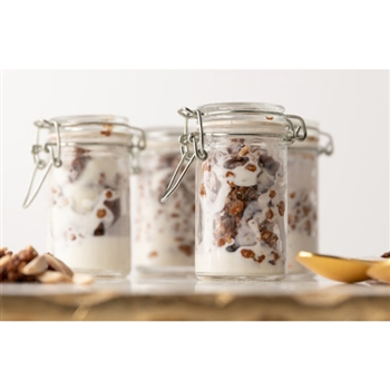 Mini Plastic Mason Jars 3oz