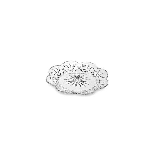 "Dublin Collection Set of Four 5"" Dessert Plates in Crystal"