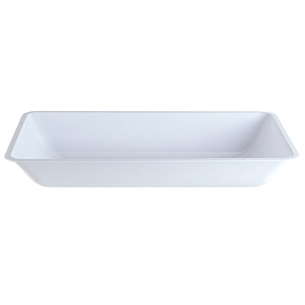 Simcha Collection Deep White Tray 2841
