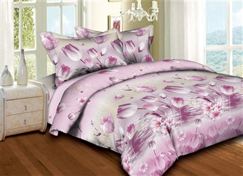 Superior Linen: Triumph Tulips 6PC Bedding Set