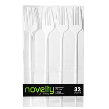 Novelty Flatware Dinner Forks 32 ct