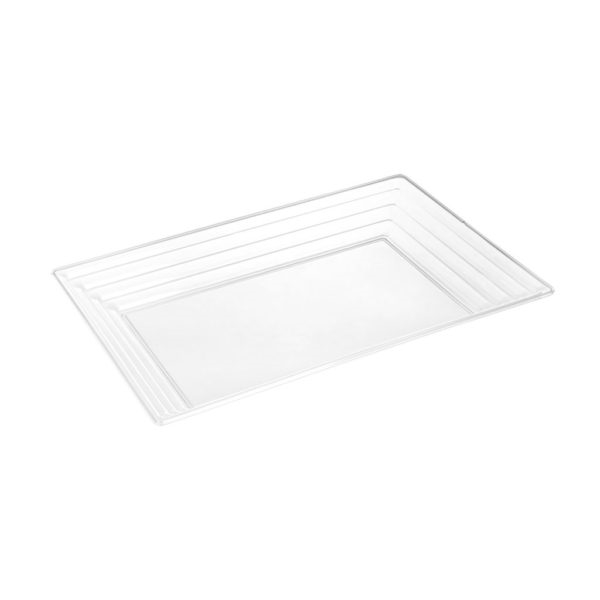 Simcha Collection Clear Serving Tray 2945