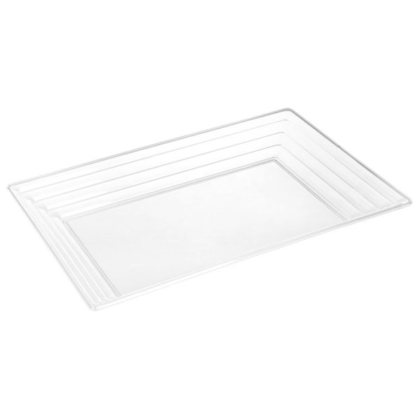 Simcha Collection Clear Serving Tray 2947