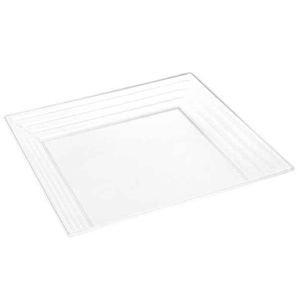 Simcha Collection Clear Serving Tray 2949