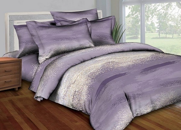 Better Bed Collection: Better Bed Purple Painting 8 Pc Bedding Set
