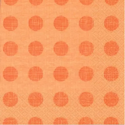 Melissa Peach Decorative Napkins - 20 ct