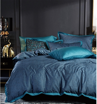 Livingston 8PC 100% Satin Cotton Bedding Set