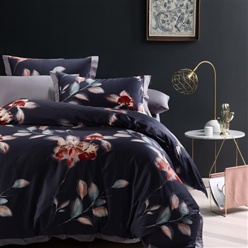Newburyport 8PC 100% Satin Cotton Bedding Set