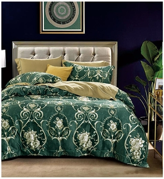 Berkley 8PC 100% Satin Cotton Bedding Set