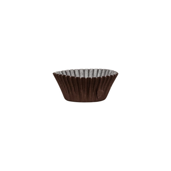 Mini Brown Baking Cups 72 ct