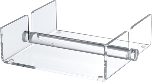 Lucite Napkin Holder with Rod