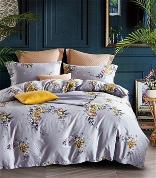 Tierra 8PC 100% Satin Cotton Bedding Set